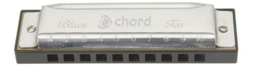 Chord 174.685 Copper Reed Plate 20 Note Diatonic Harmonica Blues Ten Harmonica