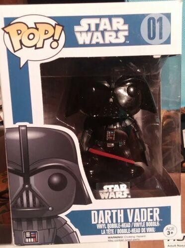 Star Wars-Darth Vader Vinyl Bobble-Head Series 1 lire détails * Funko Pop