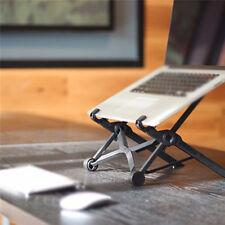 Tragbar Laptop Tisch Notebook Ständer Tisch Verstellbar Klapp- Halterung Schwarz