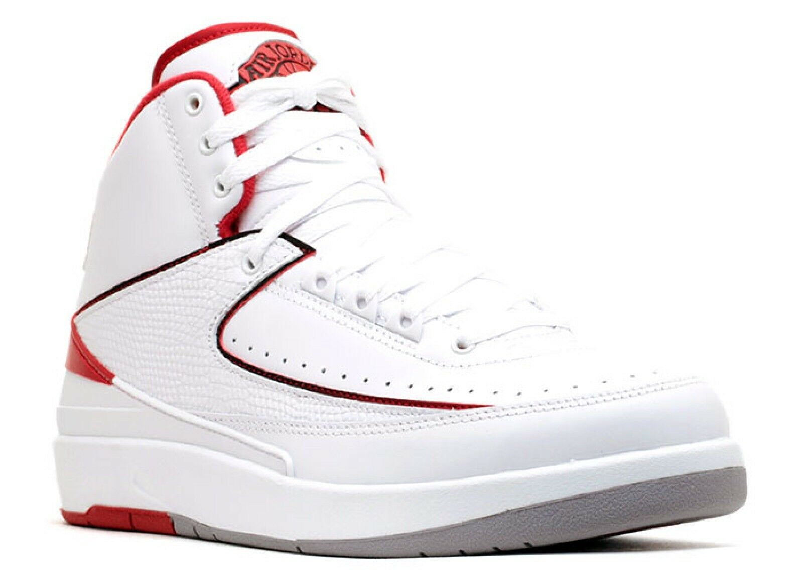 Retro Jordan 2. Red and white. Size 8. DEADSTOCK   Rare find. 100% Authentic.