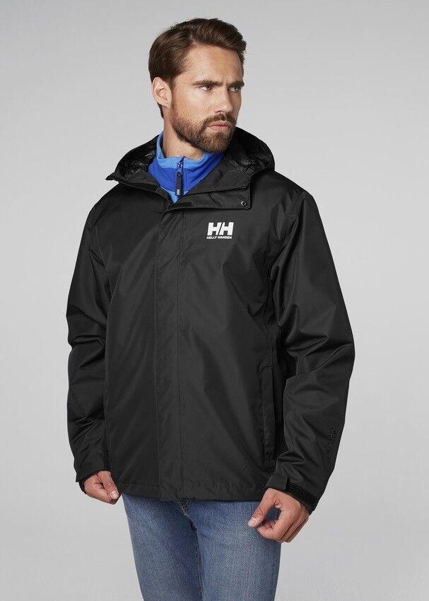 Seven Nouveau Veste 62047 992 Noir Hansen Imperméable Hommes J Jacket Helly qU1w4W5