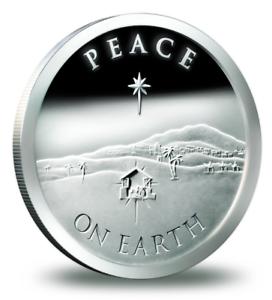 "2013 PEACE ON EARTH// SANTA SLAVE 1OZ /""CHRISTMAS SPECIAL/"" SILVER BULLET SHIELD"