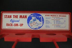 1964-Stan-Musial-Official-Rack-Um-Up-Bat-Baseball-Rack-Autograph-Signed-TriStar