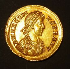 SOLIDUS ARCADIUS - 383-408 AD - MILAN - PIECE D'OR ROMAINE