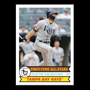 2019 Topps Throwback Thursday TBT Set 27 ~ #162 Austin Meadows Tampa Bay Rays