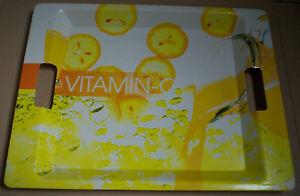 Plateau-plastique-34X44cm-citron-vitamine-c-jaune
