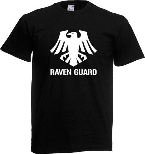 Gamer T Shirt-RAVEN GUARD vétéran aumônier Tactical Squad Vanguard Terminator