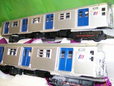 NEW MTH Premier Subway O Scale  R32 Original Two Car Add On Very Rare