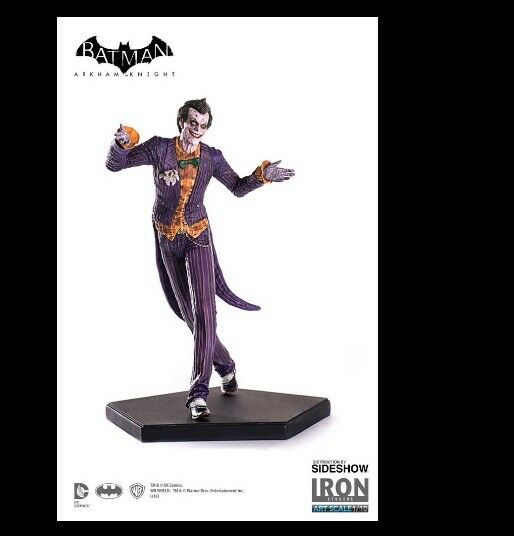 1 10 Batman Arkham Knight The Joker Iron Studios Art Scale 903999