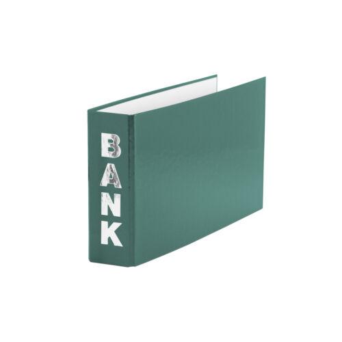 Bankordner Farbe für Kontoauszüge 140x250mm grün
