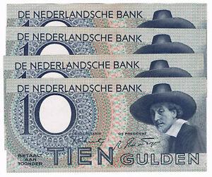 CréAtif Pl 40 Nl 8 9ar 10 Florins Au 23 Janvier 1943 Holland Pick 59 Netherlands-afficher Le Titre D'origine 100% De MatéRiaux De Haute Qualité