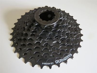 Sporting Goods Shimano Cs-hg200 Road Mountain Bike Cassette Sprocket Mtb 9-speed 11-34t Black Elegant Appearance Bicycle Components & Parts