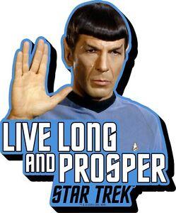 Mr-Spock-Star-Trek-Live-Long-Quote-chunky-thick-fridge-magnet-nm