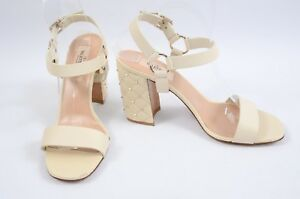 Valentino-Free-Rockstud-Spike-cream-7-37-embellished-ankle-sandal-shoe-NEW-925