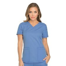 b27e38b5acd Dickies Dynamix Dk730 Women's V-neck Top Medical Uniforms Scrubs M ...