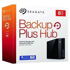 Seagate Backup Plus Hub 8TB External USB Desktop Hard Drive