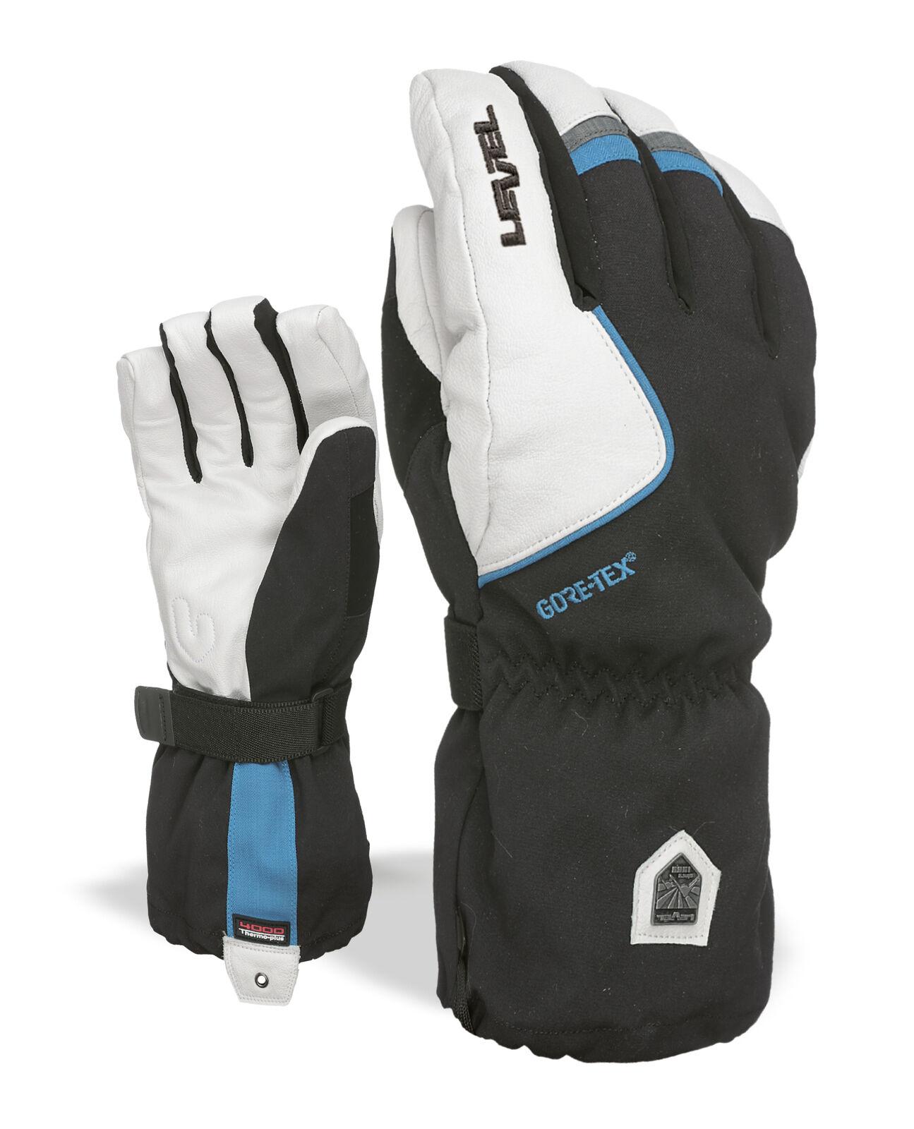 Level Handschuh Heli Gore-Tex black  winddicht wasserdicht wärmend  fishional store for sale