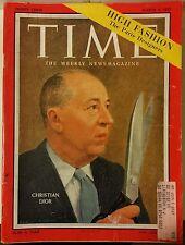 Time Magazine Christian Dior High Fashion & Paris Designers March 4, 1957 128