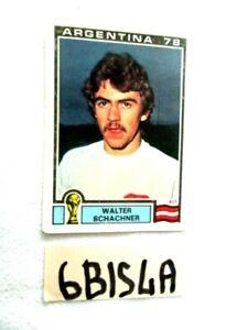CAMPIONATO DEL MONDO ARGENTINA 78 FIG. PANINI N°203 WALTER SCHACHNER  (6BIS4A)