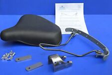 Replica Large Dunlop Rubber Motorcycle Saddle Seat - Norton Inter Manx and other
