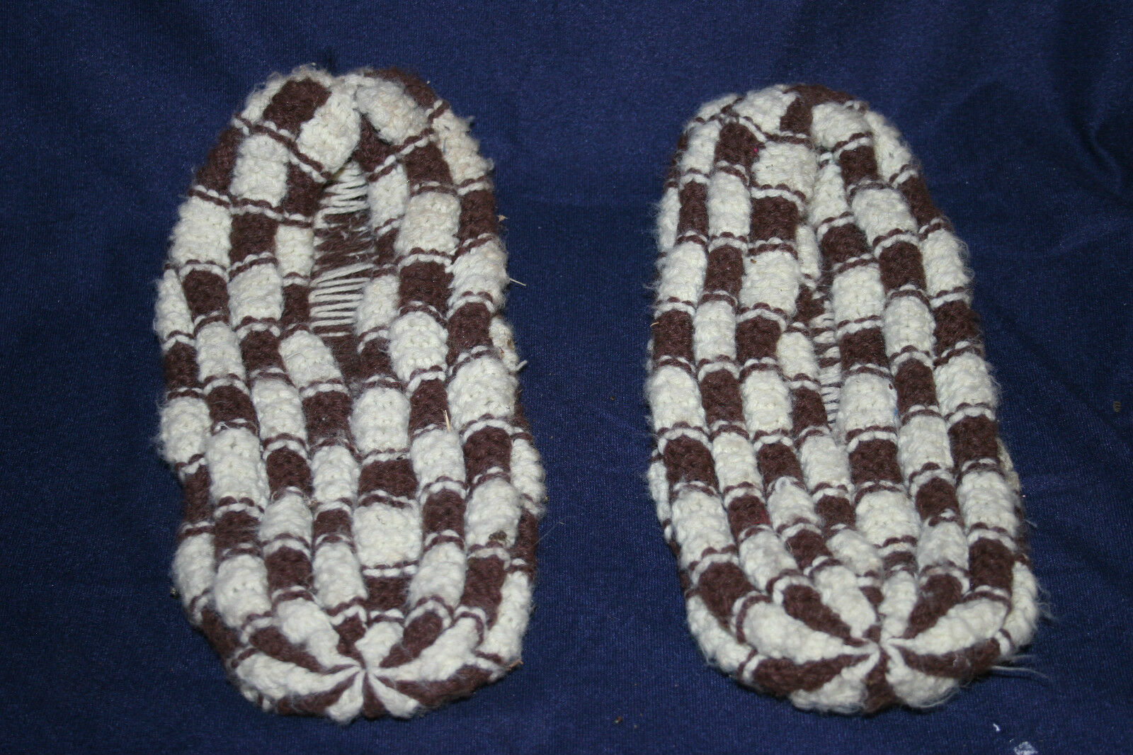 Men/Women Vintage Hand Knitted Slippers bargain Let our products go to the world Beautiful and charming