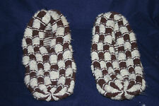 Vintage Hand Knitted Slippers