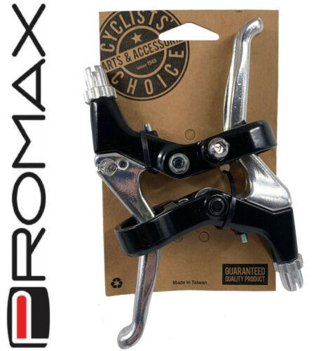 Promax Alloy 4-Finger V-Brake// Disc Brake Levers Mt Bike Pair Front Rear