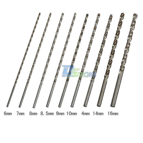 8.5mm 1 Pc Extra Long 350mm HSS Twist Drill Straigth Shank Auger Drill Bits