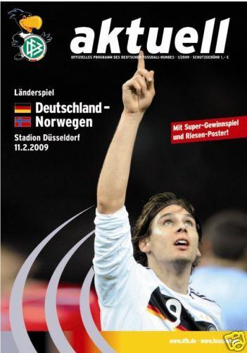 11.02.2009 DFB-Aktuell 1//2009 Deutschland Norwegen