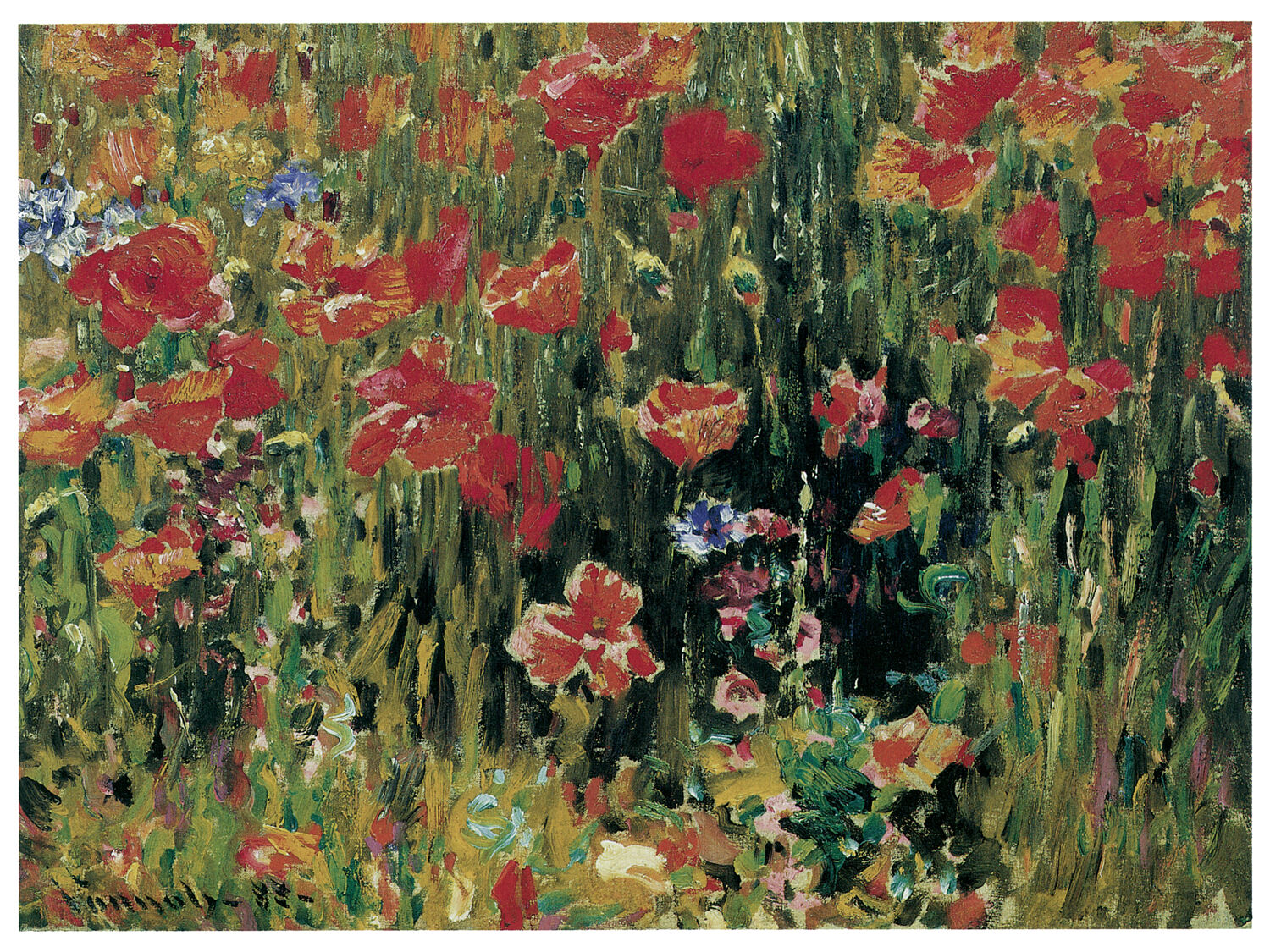 1271 rot Flowers Floral Art Decoration POSTER.Graphics to decorate home office.