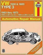 VW Type 3, 1500 and 1600, 1963-1973 (Haynes Manuals) by J.H. Haynes, D.H. Stead