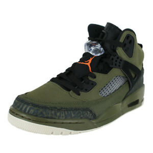 purchase cheap 4278d 07433 Image is loading JORDAN-SPIZIKE-OLIVE-CANVAS-CONE-BLACK-315371-300-
