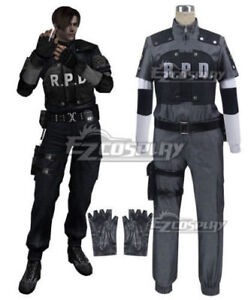 Details About Hot Anime Resident Evil 4 Rpd Leon Scott Kennedy Cosplay Costume Clothing