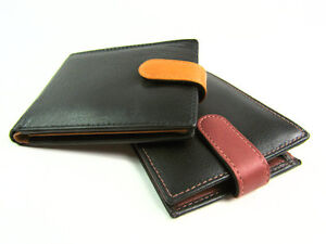Kleidung & Accessoires New Mens High Quality Genuine Soft Leather Wallet Credit Card Holder Coin Pouch Ein Bereicherung Und Ein NäHrstoff FüR Die Leber Und Die Niere