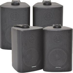 "2 x Paar 2 Wege Kompakt Stereo Lautsprecher - 3""60W 8Ohm- schwarz ..."
