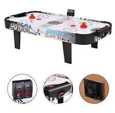 Air Hockey Table Game Powered Pucks Indoor Sport Electronic Scoring 2 Pusher 42""