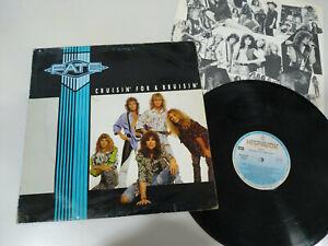 Fate-Cruisin-For-A-Bruisin-LP-12-034-Vinyl-1988-G-VG-Spanisch-Edit-Hispavox
