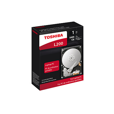 Toshiba L200 Slim HDWL110EZSTA - 1TB 5400rpm 128MB SATA600 2.5zoll