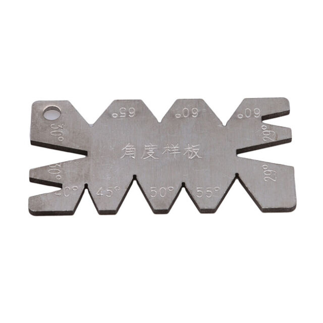 Stainless Steel Screw Thread Cutting Angle Gage Gauge Measuring Tool BS