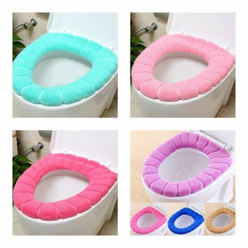 Useful Washable Covers Pads Durable Comfort Bathroom Toliet Seat Covers Cushion