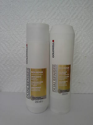 GOLDWELL DUALSENSES RICH REPAIR SHAMPOO AND CONDITIONER (TRACKING NUMBER)