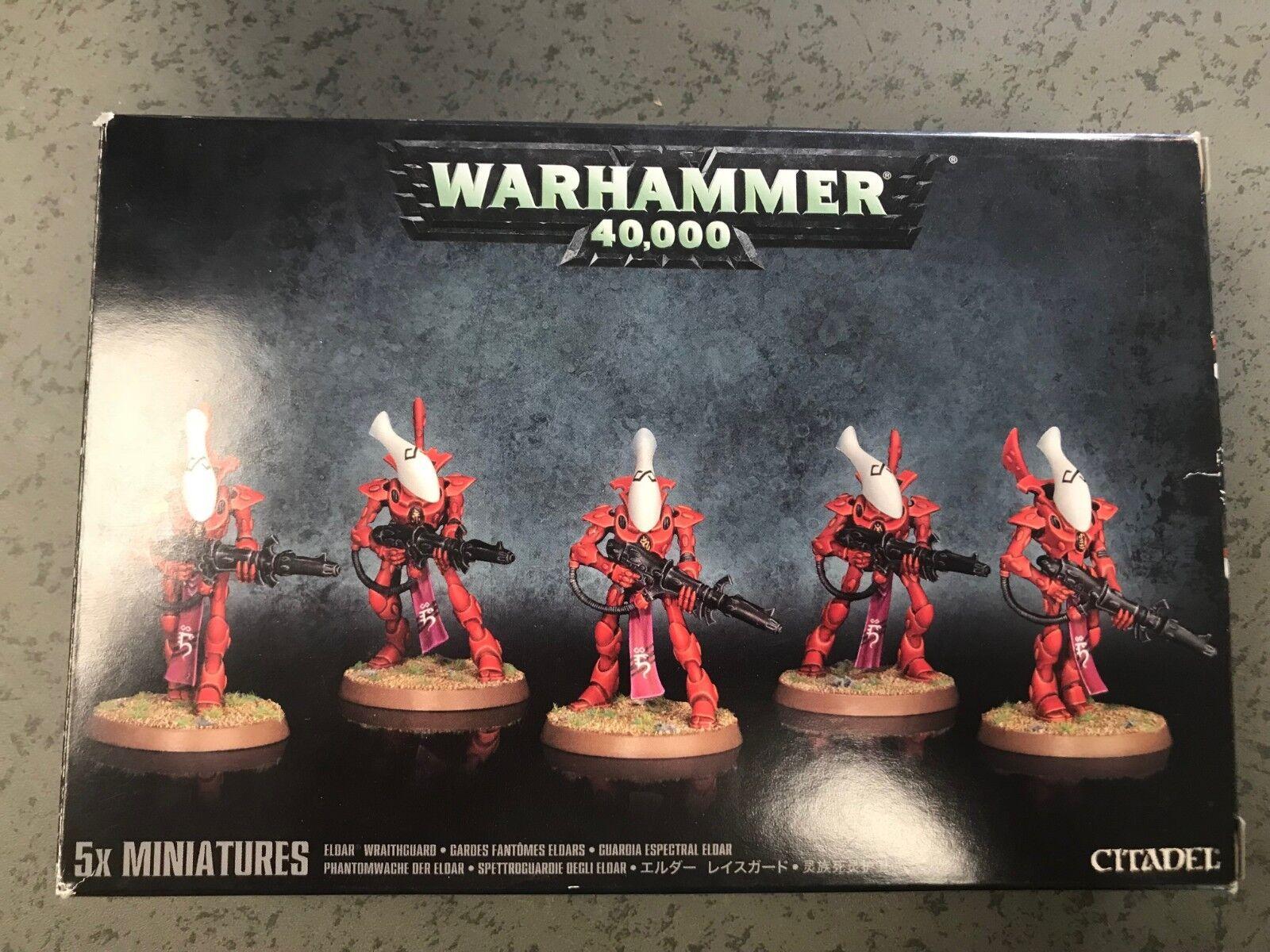 New Eldar Wraithguard   Wraithblades Warhammer 40k Unassembled