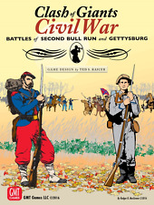Clash of Giants Civil War by GMT Games 2016 Shrink