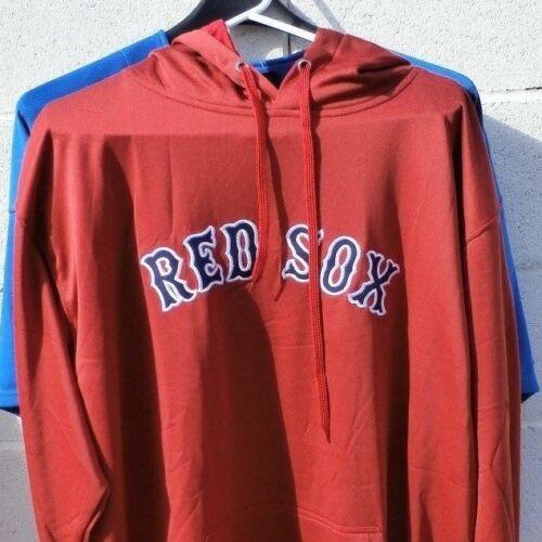 Boston RED SOX Hooded Performance Sweatshirt Hoody NWT 2XL XLT Majestic MSRP $70