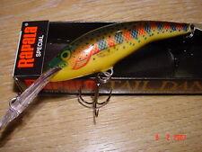 TD-7 TSL: RAPALA taildancer, 7cm, Golden trota iridea-V RARA! esca luccio pesce persico