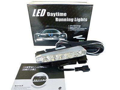 2 x 5W LED High Power 5W Daytime Running Lights DRL Fog For Ford