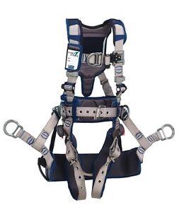 Dbi sala 1112587 exofit strata tower climbing harness l for Sala safety harness