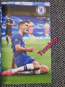 Chelsea-v-Manchester-City-VERY-LIMITED-COLLECTOR-039-S-EDITION-PROGRAMME-25-6-2020