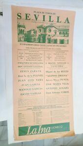 1986-Cartel-Plaza-de-Toros-Sevilla-Miguel-de-Los-Reyes-Alonso-Triana