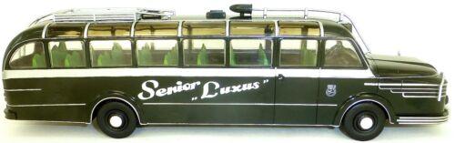 KRUPP TITAN 080 Senior Luxus Hartje 1951 Bus IXO 1:43 OVP NEU #ACBUS038#GC1 µ *